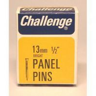 Challenge Panel Pins - Bright Steel (Box Pack) - 13mm